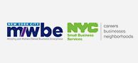 NYC MWBE logo